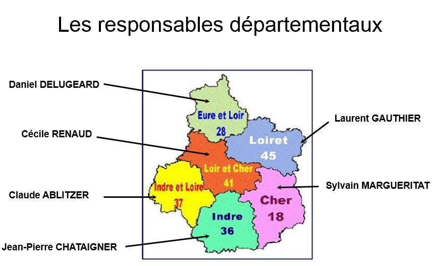 responsables régionaux